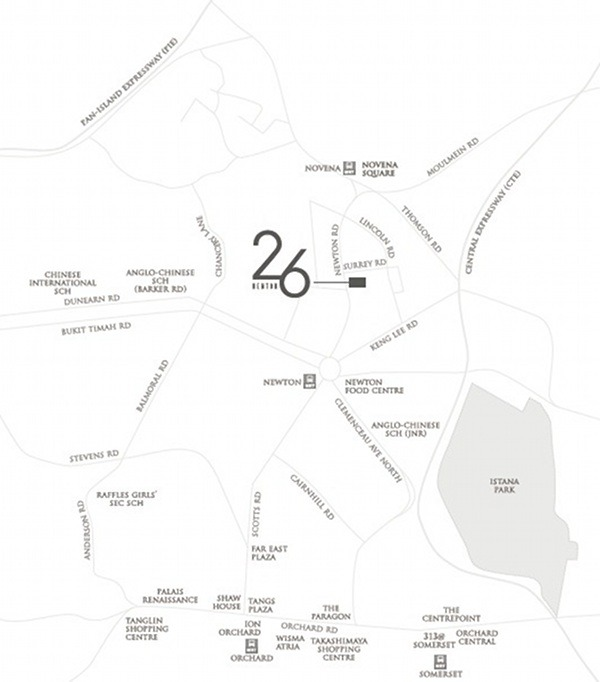 26 newton location