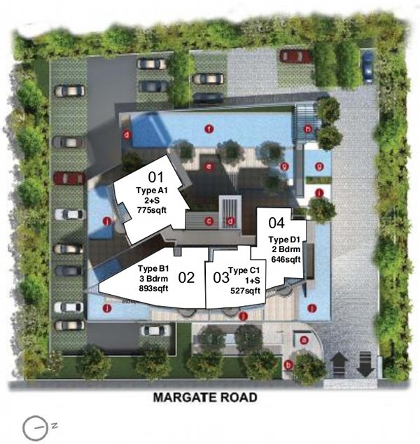 8M Residences site plans