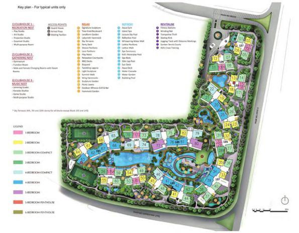 d-nest-site-plan-with-coloured-key-plan
