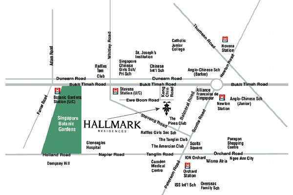 hallmark-residences-location