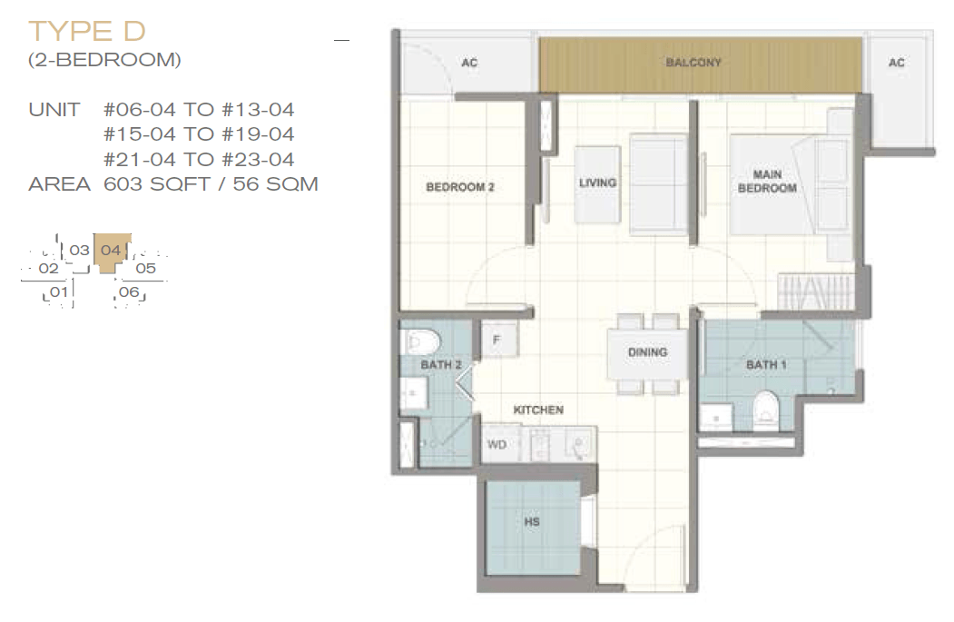 Forte-Suites-Floor-Plan-Type-D