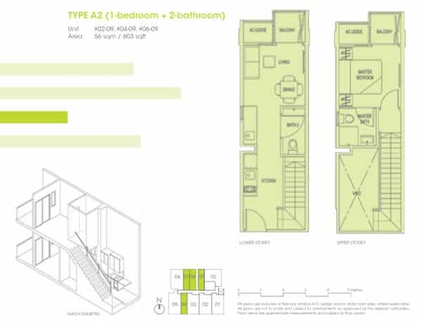 Hotline 65 6100 3515 Park 1 Suites 1br Floor Plans Park 1