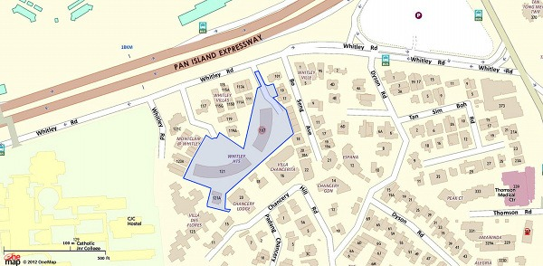 the-whitley-residences-map