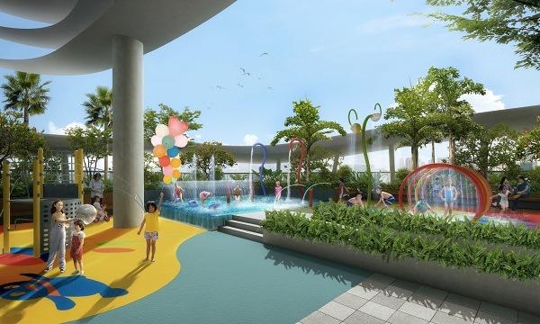 Kallang Riveside Childrens Pool and Playground