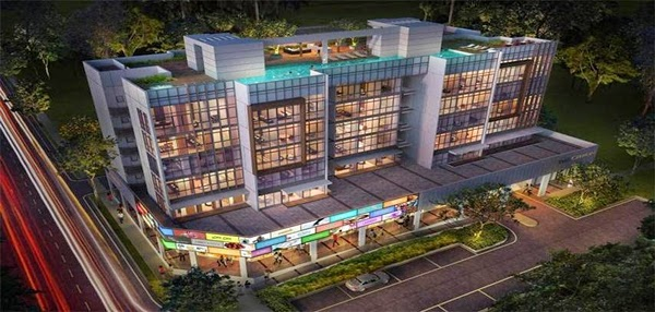 The Citron Residences Night View