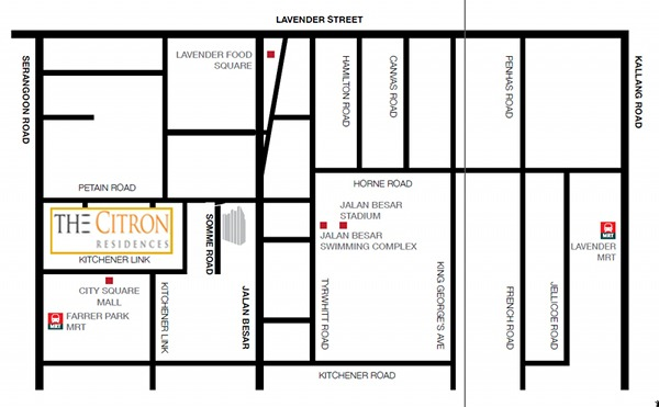 the-citron-residences-location
