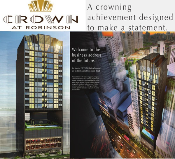 Hotline +65 6100 3515 crown-robinson-facade vCrown @ Robinson price Crown @ Robinson road office Crown @ Robinson discounts Crown @ Robinson address Crown @ 140 Robinson Road