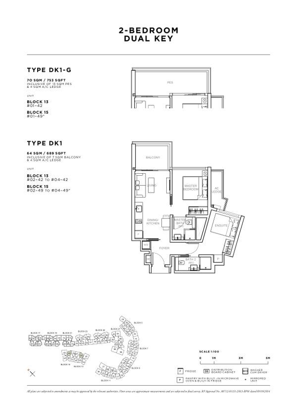sophia hills 2br floor plan