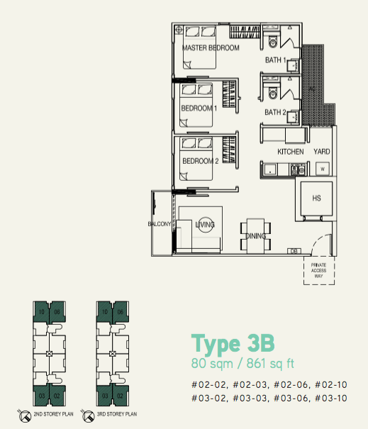 hilbre 28 3br floor plans