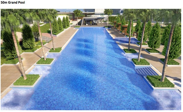 Cramercy park 50 m Pool