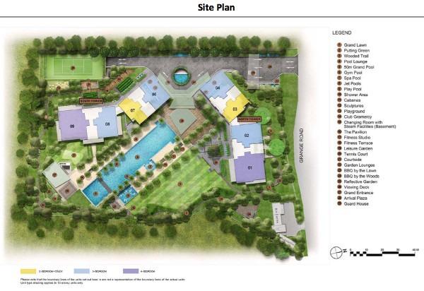 Cramercy park site plan