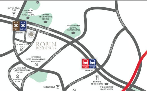 robin residences address