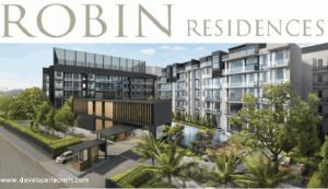 robin residences facade