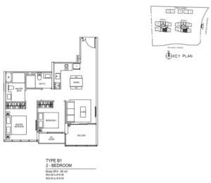 Hotline +65 6100 3515 Thomson-impressions-2br-floor-plans-300x260