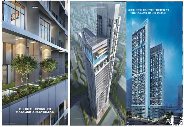 the-colony-kl-infinitum facade