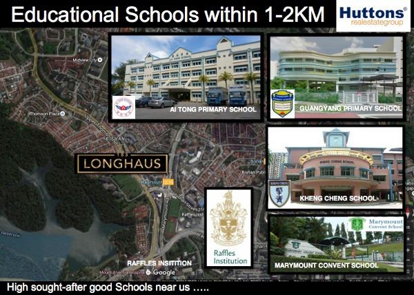 183 longahus nearby schools