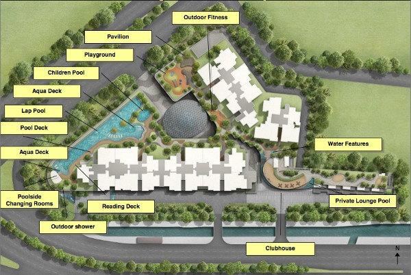 Stars of kovan site plan
