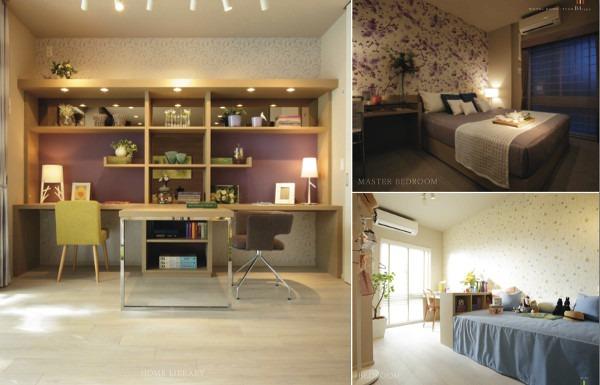 The Residence, Higashi-Mikuni bedrooms