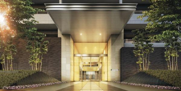 The Residence, Higashi-Mikuni entrance