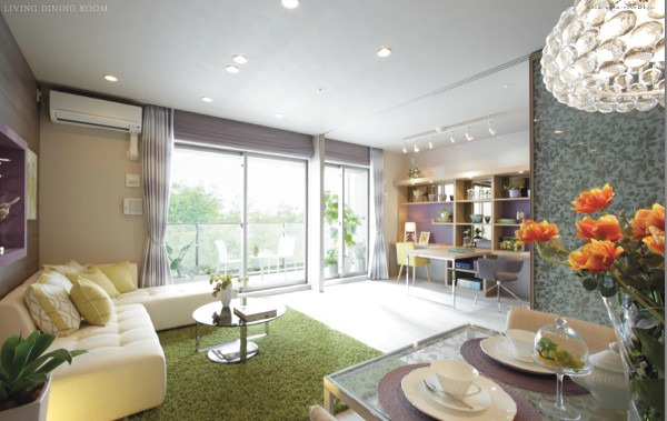 The Residence, Higashi-Mikuni living dinning