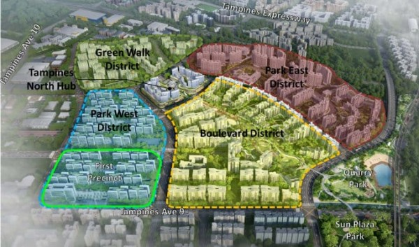 New-Launch-Tampines-North-HDB-Plans