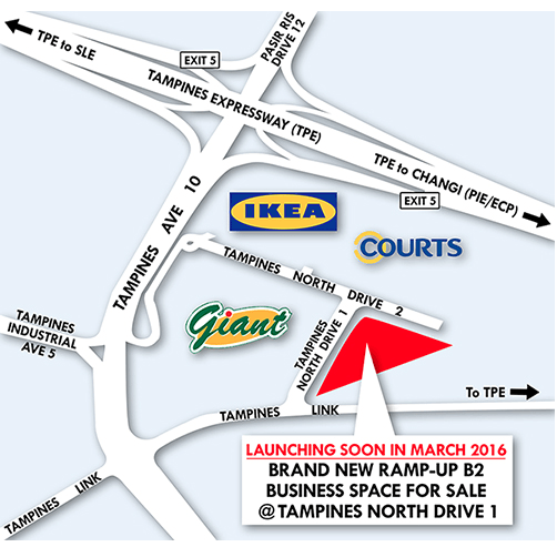 T-Space Tampines location