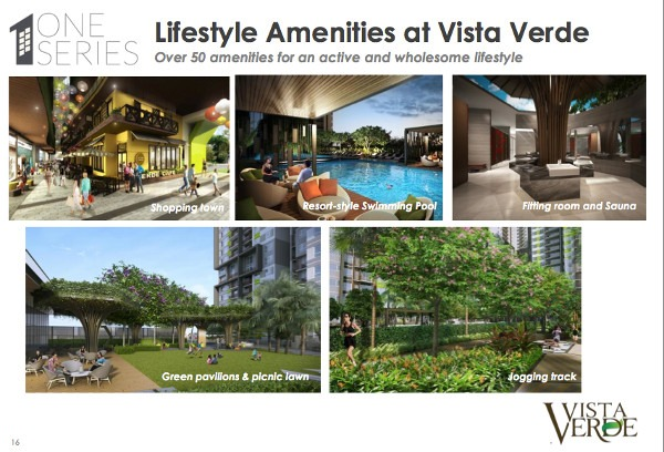 vista verde one series facilities