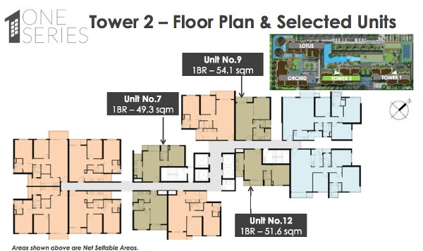 vista verde one series tower 2 floor plans