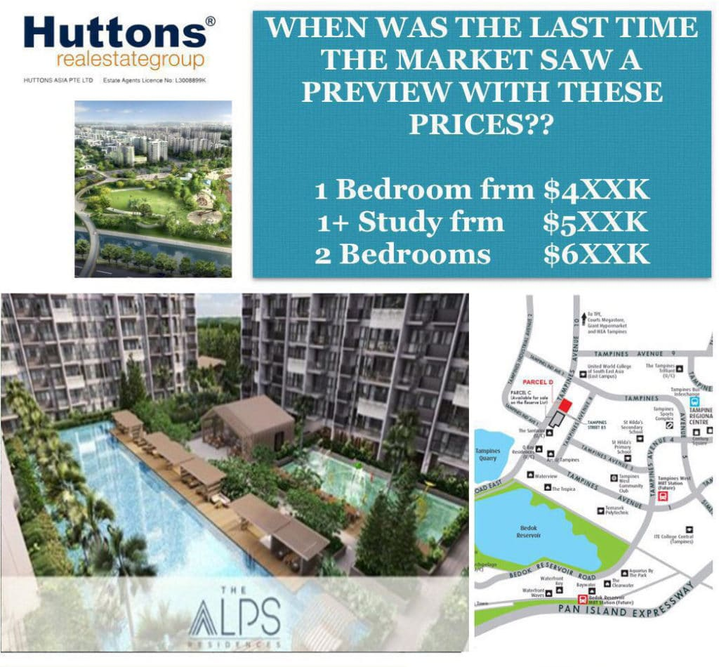 The Alps Residences attractive price