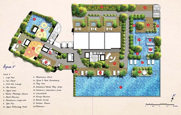 SPOTTISWOODE SUITES Site plan