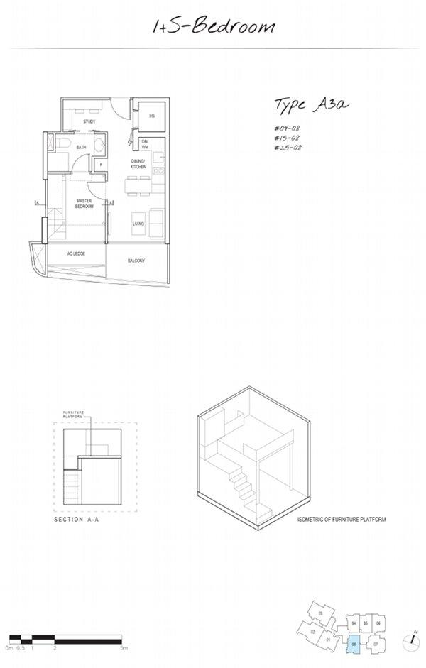 Spottiswoode Suites - 1 br +s