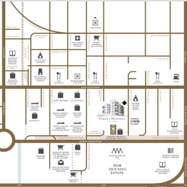 straits Mansions location map