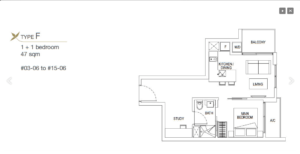 Floor Plan Neem Tree Condo