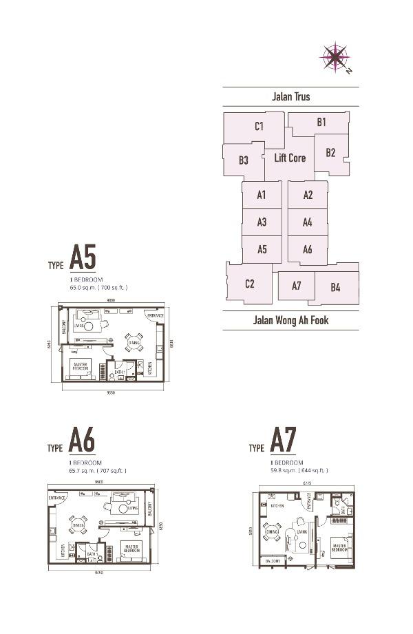 suasana-1br-floor-plans