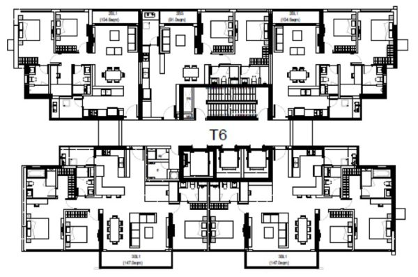 Hotline +65 6100 3515 The-View-Riviera-Vietnam-Floor-Plan-Tower-6-e1476341197503 The View Riviera Point Vietnam price The View Riviera Point Vietnam location The View Riviera Point Vietnam floorpans The View Riviera Point Vietnam by Keppel Land The View Riviera Point Vietnam Brochure