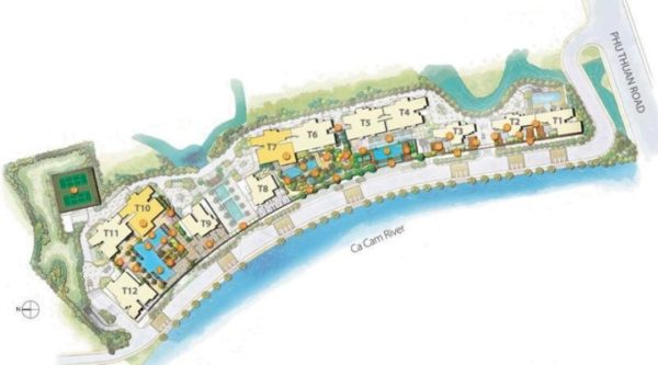 the-view-riviera-vietnam-site-plan