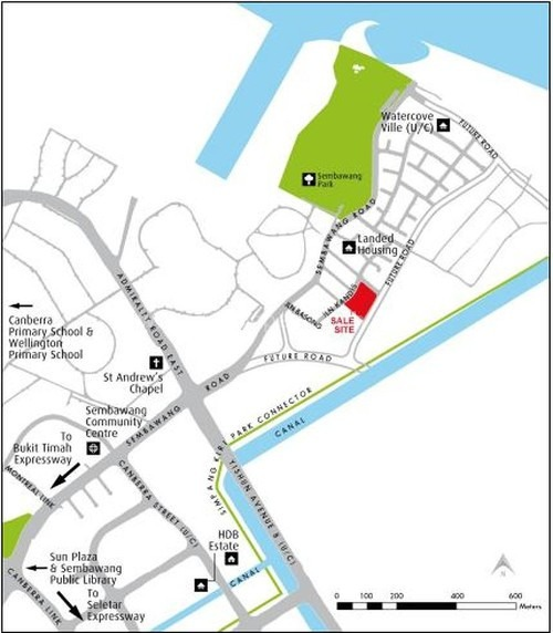 kandis-residences-site-map